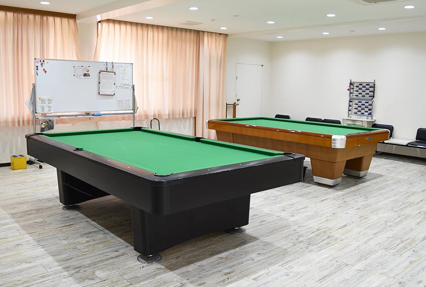 枚方市総合福祉センター : ビリヤード室 : Image Gallery01