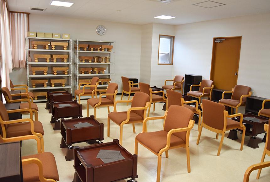 枚方市 総合福祉センター : 対局室